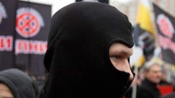 Участник марша в России