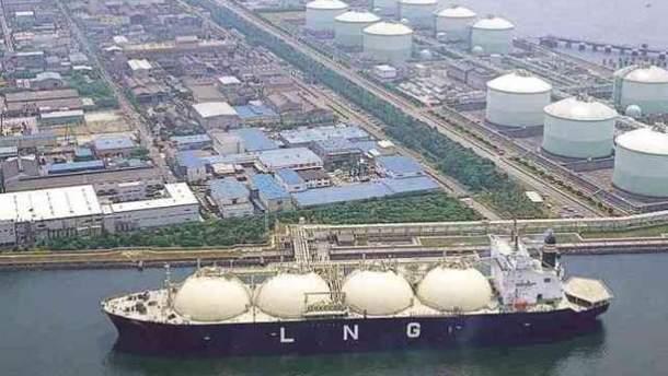 Будущему LNG-терминалу в Украине нашли побратима