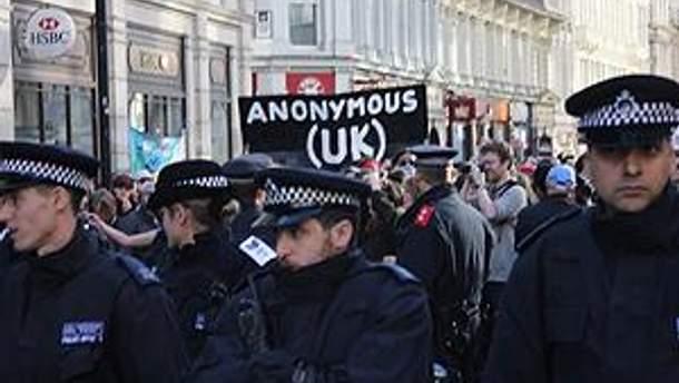 """В Лондоне продолжается """"оккупация"""""""