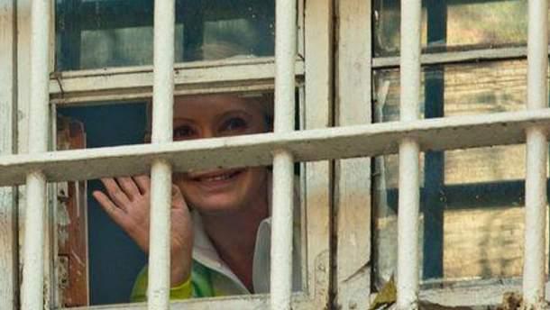 Юлії Тимошенко важко ходити