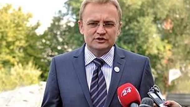 Мер Львова Андрій Садовий