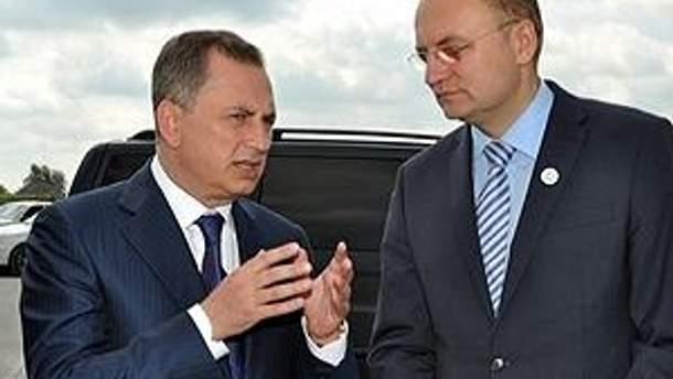 Борис Колесников и Андрей Садовый