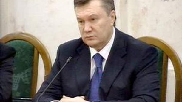 Виктор Янукович обеспокоен недостаточным информированием о деятельности власти