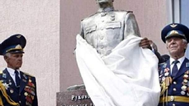 Восстановленный памятник Сталину
