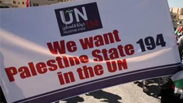 В ООН не могут определиться относительно Палестины