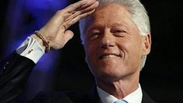 42-й Президент США Білл Клінтон