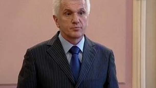 Владимир Литвин находится с визитом в Санкт-Петербурге