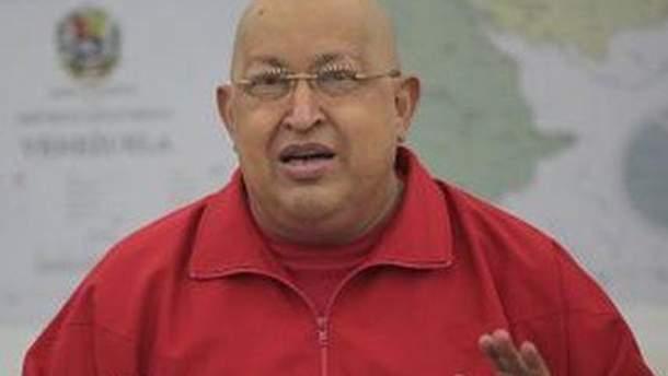 Уго Чавес повідомив про інцидент по телебаченню