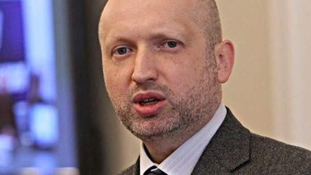 Олександр Турчинов повідомив, що його політична сила намагалась провести референдум