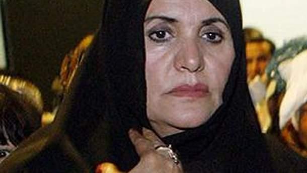 Дружина Муамара Каддафі Софія