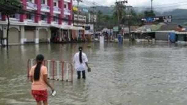 Лучше обходить затопленные районы