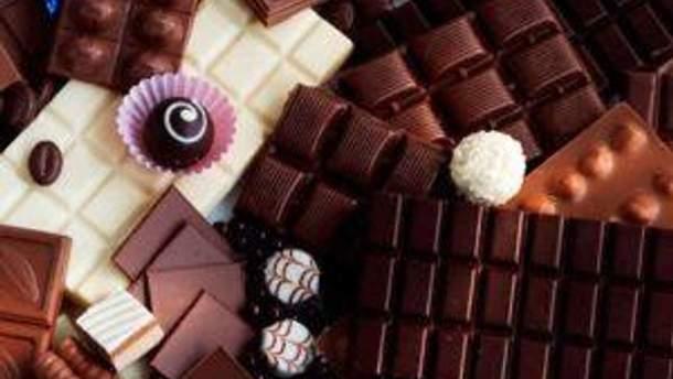 Три дня будут пробовать шоколад