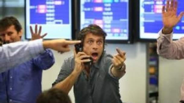 """Украинские биржи торгуют в """"плюсах"""""""