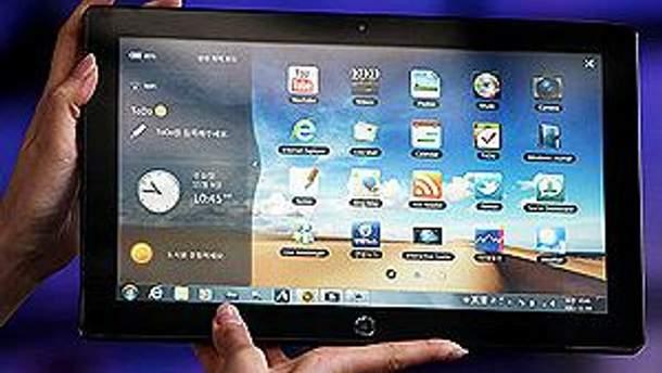 Планшет Samsung на Microsoft Windows 8