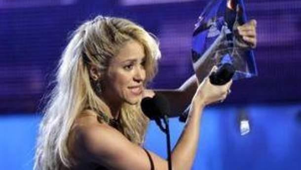 Шакира с премией