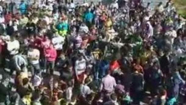 Сирія у демонстраціях