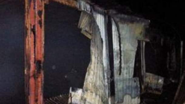 Пожежа охопила 750 квадратних метрів