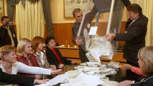 У грузинському регіоні завершують підрахунок голосів