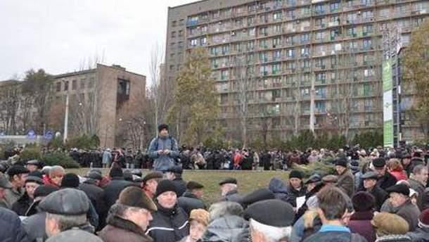 """""""Чорнобильці"""" обурені врізанням пенсії в листопаді"""