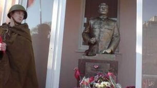 """""""Новый"""" Сталин в Запорожье"""