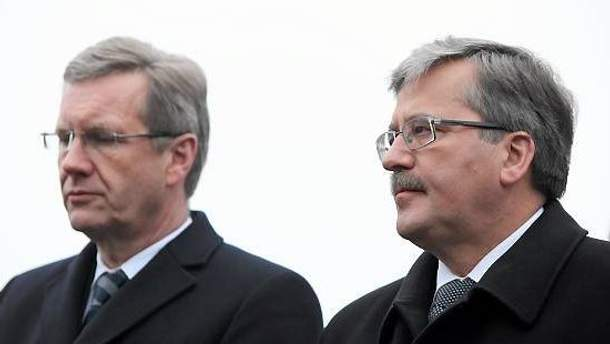 Вульф и Коморовский надеются, что туман рассеется