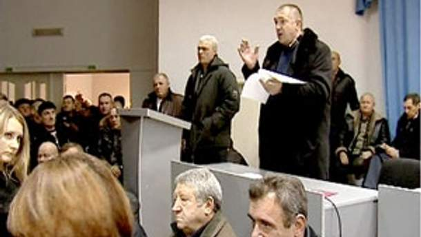 Чорнобильці продовжують голодування у приміщенні Пенсійного фонду