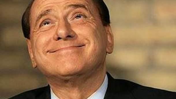 Екс-прем'єр-міністр Італії Сильвіо Берлусконі