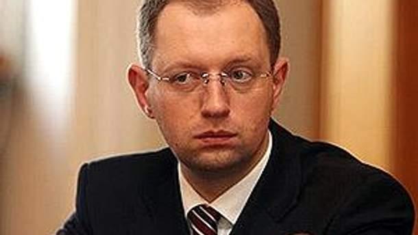 """Лидер партии """"Фронт перемен"""" Арсений Яценюк"""