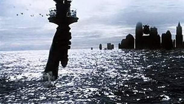 Нью-Йорк может за несколько часов полностью уйти под воду