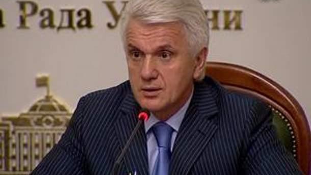 """Литвин сподівається, що ініціатива уряду не буде """"парою в гудок"""""""