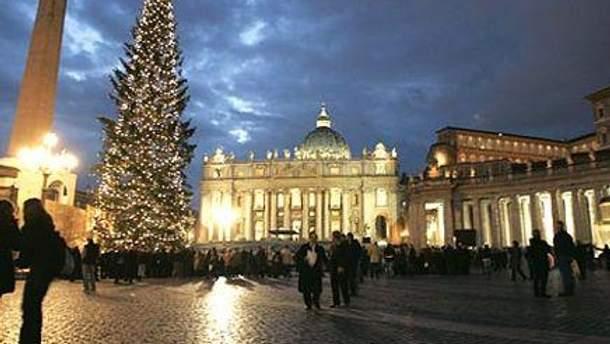 В этом году на площади святого Петра будет стоять украинская елка
