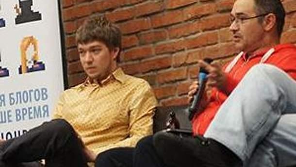 Илья Дронов и Антон Носик