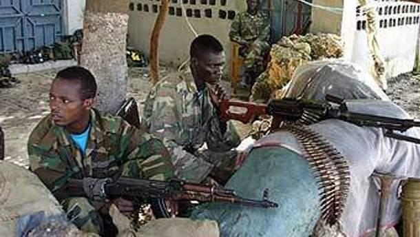 Эфиопские военные
