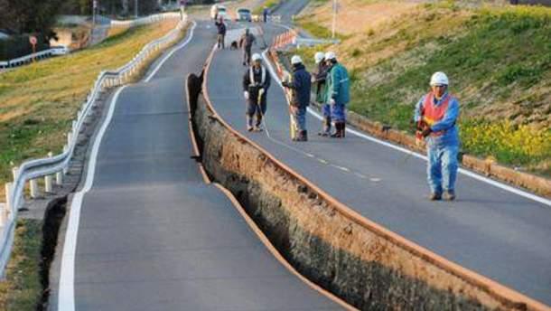 Последствия землетрясения 11 марта