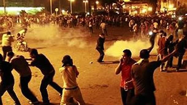 Демонстранты впоследствии вернулись на главную площадь египетской столицы
