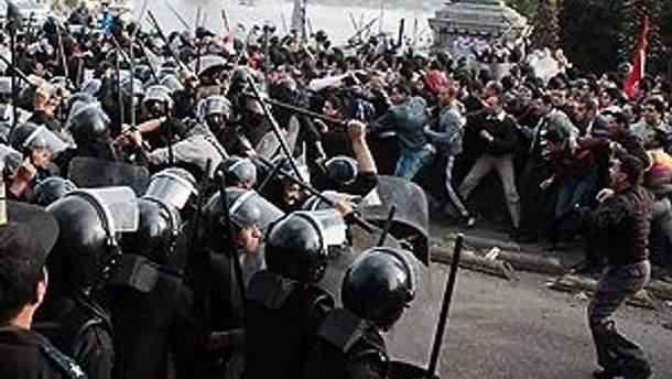 В Египте снова протестуют