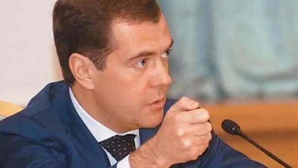 Дмитро Медвєдєв вважає, що Росія у 2008 році не злякалась