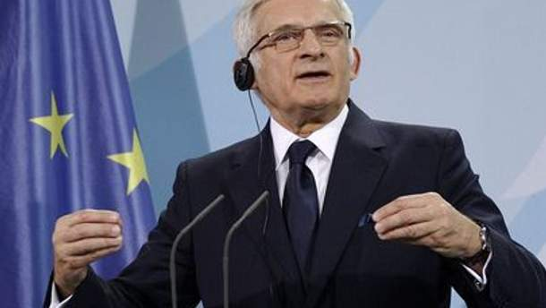 Президент Европарламента Ежи Бузек