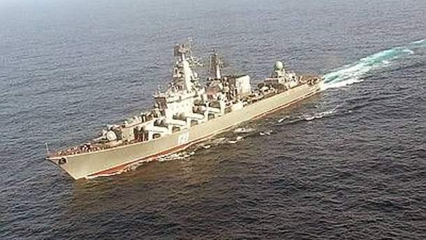 Корабль российского военно-морского флота