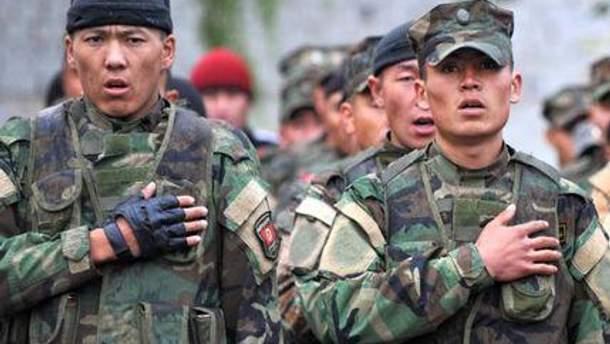 Киргизькі військові