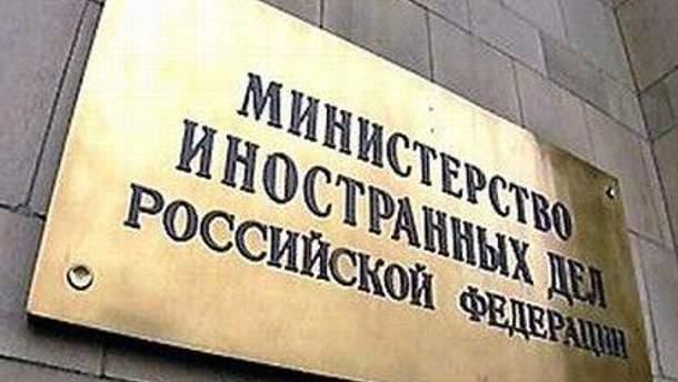 У російському МЗС переконані, що нові санкції не сприятимуть діалогу
