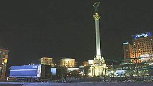 На Майдане спокойно