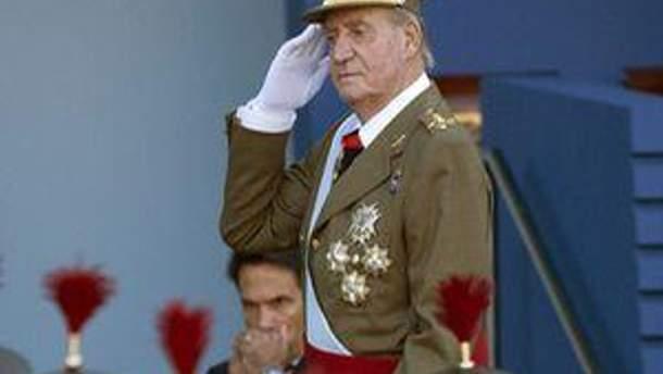 Король Іспанії Хуан Карлос