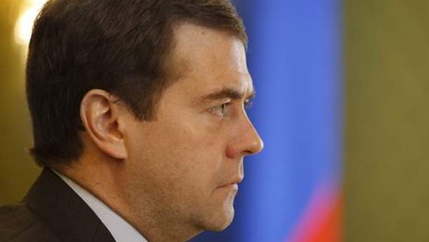 Дмитро Медвєдєв каже, що питання вирішити можна тільки зі США або НАТО