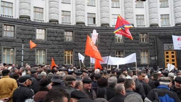 """""""Чорнобильці"""" зберуться під Кабміном 29 листопада"""