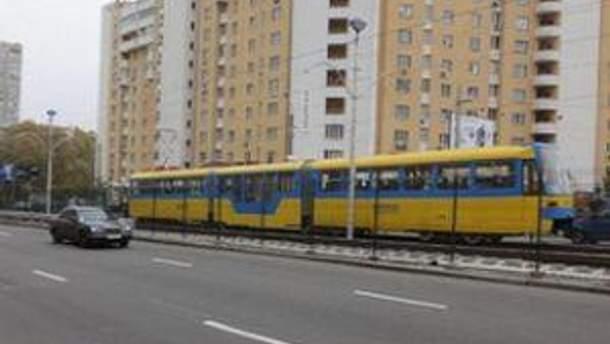 Швидкісний трамвай у Києві