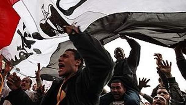 Протесты в Египте не прекращаются