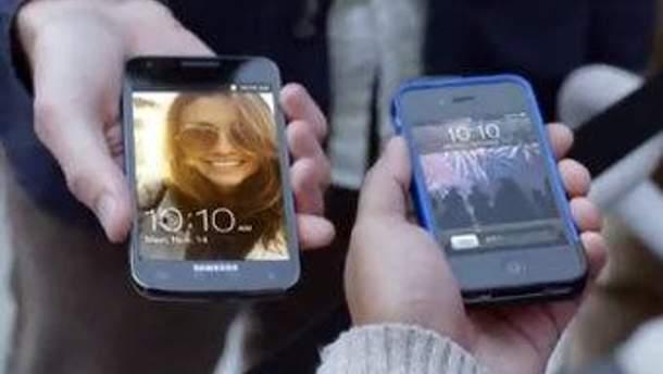 Кадр из видеоролика Samsung