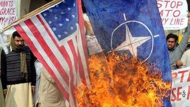 Пакистан протестует против США и НАТО