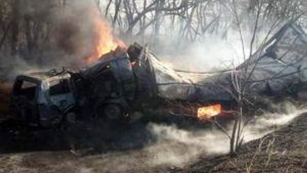 Водители сгорели заживо